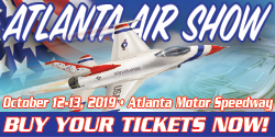 Atlanta Air Show - October 12-13, 2019 at Atlanta Motor Speedway