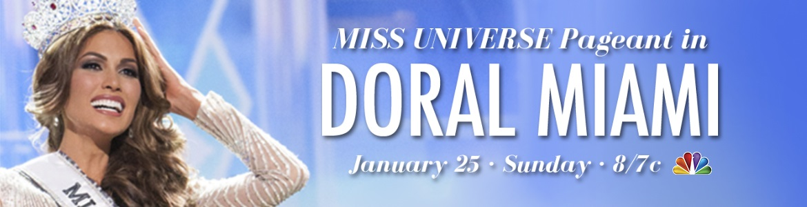 Miss Universe Pageant in Doral Miami