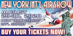 New York International Air Show - August 29-30, 2020 at Stewart International Airport