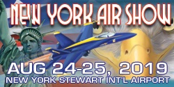 New York Air Show - August 24-25, 2019 at Stewart International Airport