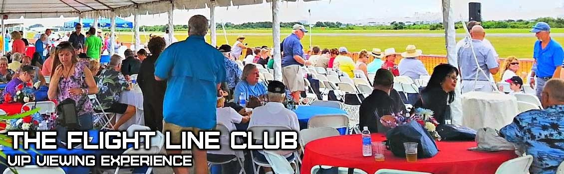 The Flight Line Club Viewing Experience
