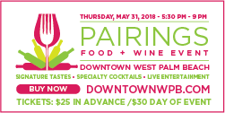Pairings Food + Wine Event