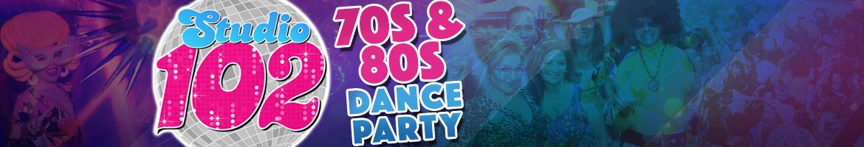 70s & 80s Dance Party - Studio 102