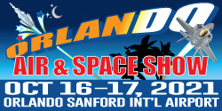 Orlando Air & Space Show - October 16-17, 2021 at Orlando Sanford International Airport