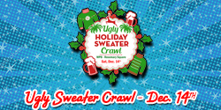 Ugly Holiday Sweater Crawl